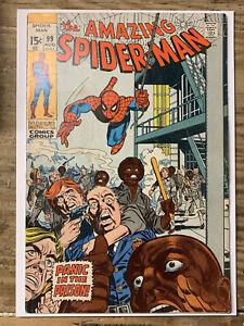 Amazing Spider-Man #99/Bronze Age Marvel Comic Book/FN