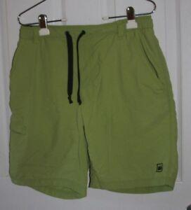 d2f7cfcc94 REI Lined Baggies Shorts Swim Trunks Men's Small Green Nylon Shell ...