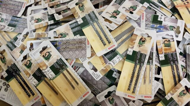Bosch Stichsägeblätter 30 Stück T-Schaft Stichsägeblatt für Bosch Holz Metall