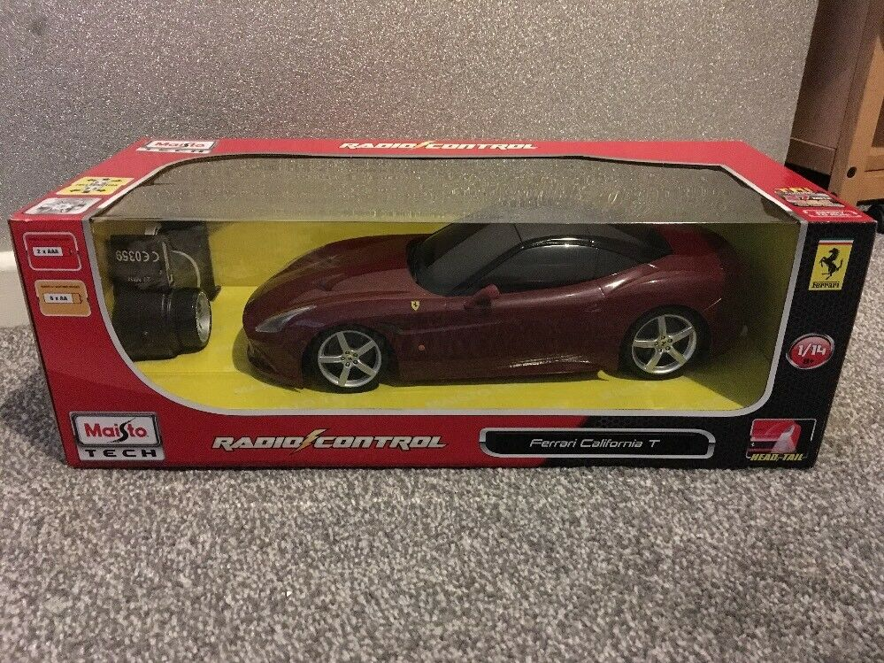 Maisto 1 14 Scale RC Ferrari California T Remote Controlled Sport Racing Car