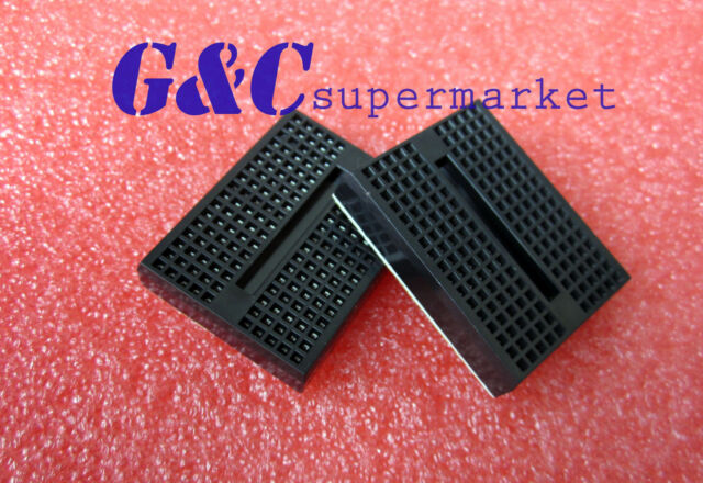5pcs Black Solderless Prototype Breadboard 170 SYB-170 Tie-points for Arduino