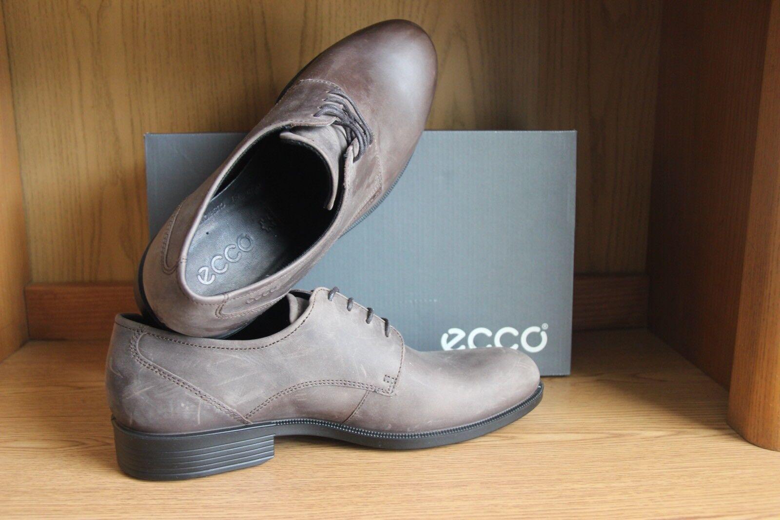Ecco Harold Harold Harold Lace Oxford Shoe Brown Uomo 634584 33f82d