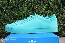 4d098f83f96 adidas Originals Courtvantage Adicolor Shock MINT Green S80256 Sz 11 ...