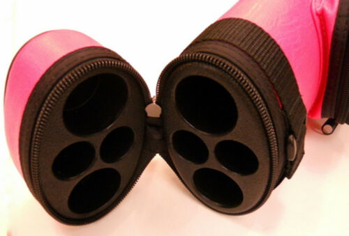 New PINK Oval 2X2 HARD CASE PR22VPK Great Value!! Pro Series – 2 POCKETS