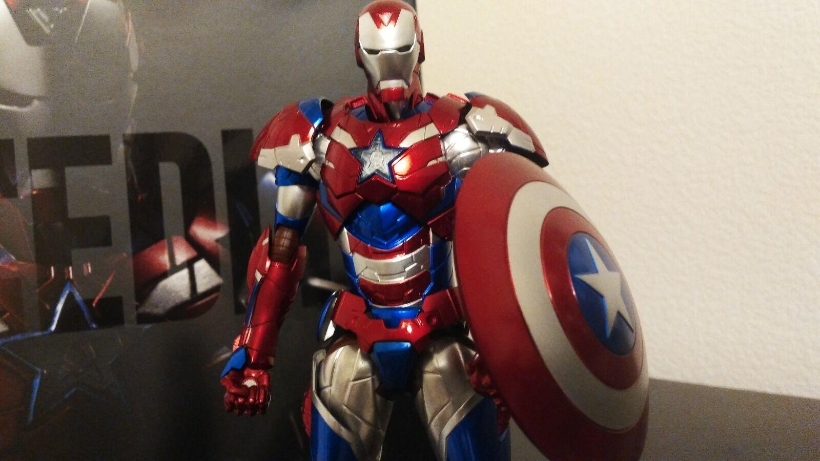 Wächter   iron man  iron patriot - bearbeiten