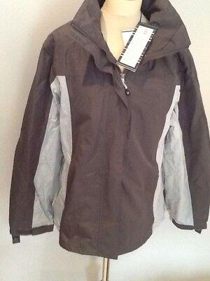 Outdoor Scene,brown,£69.99 14-16 womens walking //hiking jacket,lg.