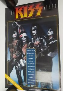 KISS - The Years by Barry Levine 1997 Promotional Poster 11x17 Paul Stanley army