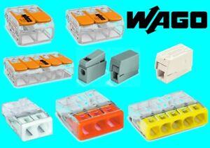 Wago-Verbindungsklemme-Dosenklemme-Leuchtenklemme-Hebelklemme-2273-221-224