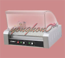 220v 165kw Commercial 11 Roller Hot Dog Grill Cooker Machine