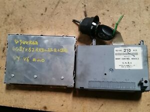 HOLDEN-VY-COMMODORE-BCM-ECU-BARREL-AND-KEY-210-MID