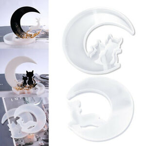 Tail DIY Handmade Art Gift Casting Mould Silicone Mold Crystal Glue Epoxy Resin