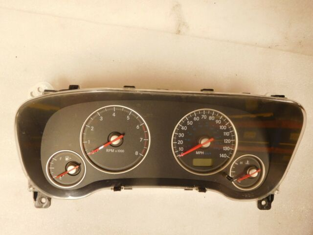 2003 chrysler sebring coupe dashboard