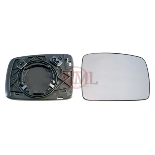 LAND ROVER FREELANDER 2006-/>2010 DOOR MIRROR GLASS SILVER,HEATED /& BASE,RIGHT