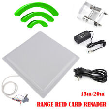 15m Uhf Rfid Long Range Reader Rs232485 Interface Logisticsaccess Control 5kg