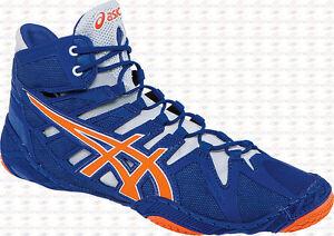 Image is loading Asics-Omniflex-Attack-MEN-039-S-Wrestling-Shoes-