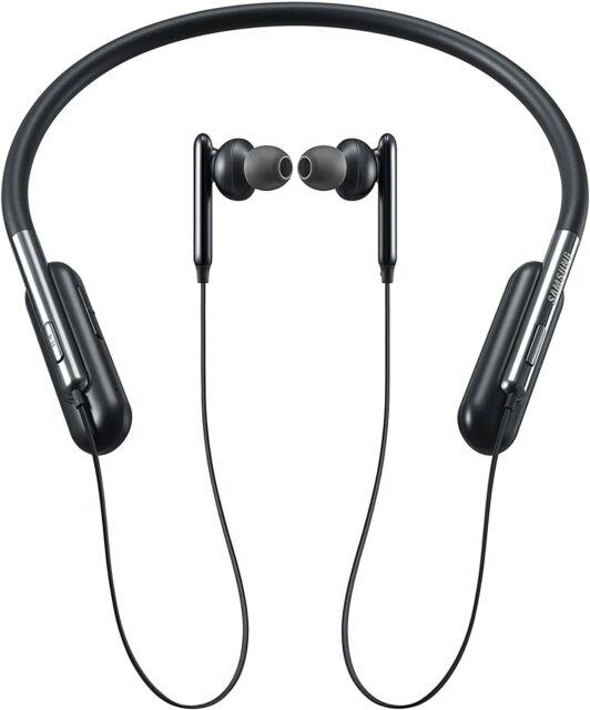 Samsung U Flex Bluetooth Wireless In Ear Flexible Headphones Black For Sale Online Ebay