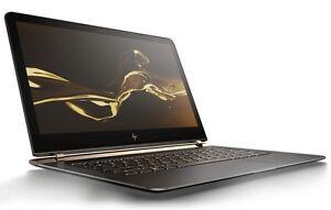 """HP Spectre 13.3"""" Laptop Intel Core i7 7th Gen U7500, 8GB RAM, 512GB SSD 7th GEN"""