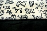 Poodle Shih Tzu Chihuahua Doxie Double Side Pet Blanket Can Personalize 28x44