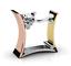 Fashion-Women-Men-925-Silver-Three-Tone-Gold-White-Topaz-Ring-Band-Wedding-Gift thumbnail 1