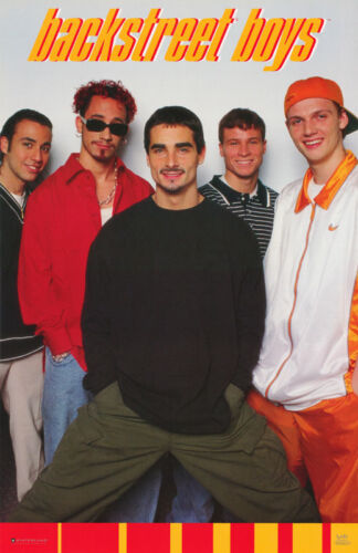 GROUP HANDS IN POCKET MUSIC BACKSTREET BOYS POSTER FREE SHIP #7503 LC22 N