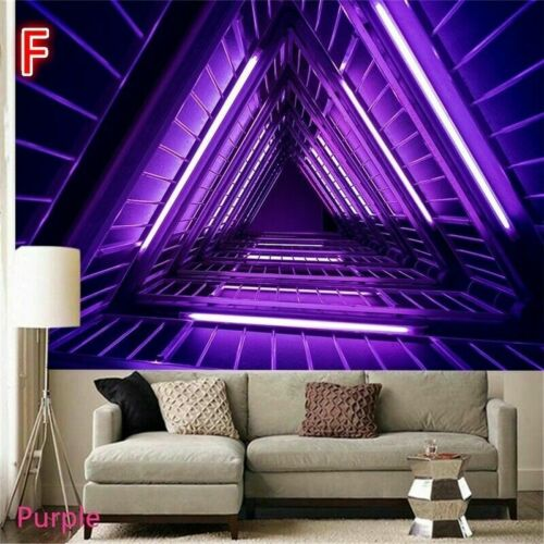 Psychedelic Neon Mountains Tapestry Wall Hanging Tapestries Art Home Room Decor
