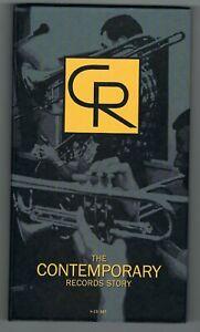 ♫ - THE CONTEMPORARY RECORDS STORY - 4 CD SET - TRÈS BON ÉTAT - ♫
