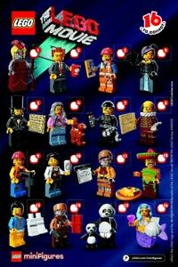 Lego 71004 Collectible Minifigures The Lego Movie Full Set Of 16 New Ebay