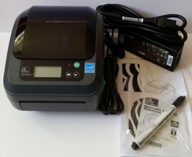 Zebra GX420D (GX42-200312-000) Label Thermal Printer