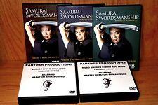 Complete Masayuki Shimabukuro Samurai Sword & Jodo Super Set (12 DVDs)