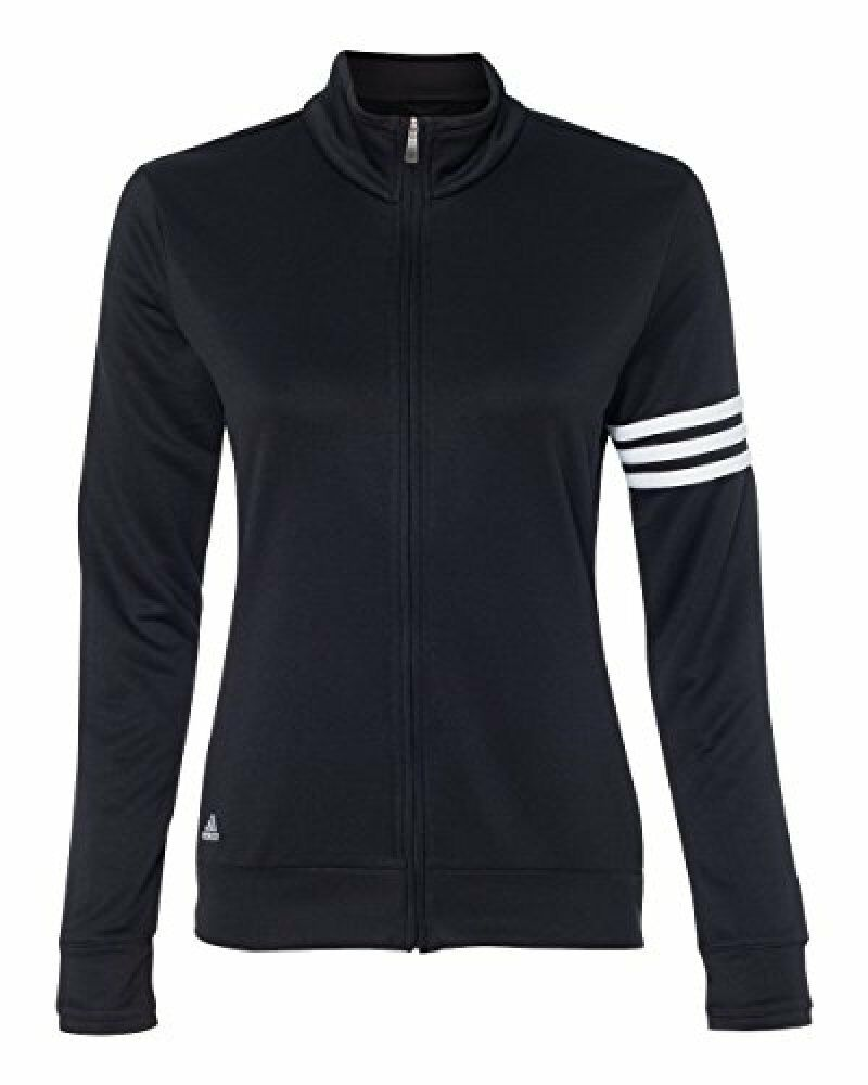 Adidas Ladies' Climalite 3-Stripes French Terry Full-Zip Jacket-A191
