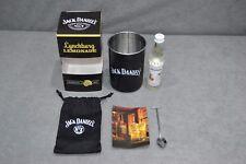 Brand New Jack Daniel's Lynchburg Lemonade Cocktail Set Kit Spoon Tin Cup Pouch