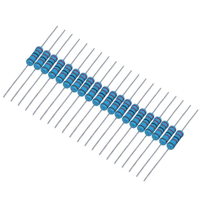 US Stock 20pcs 22K ohm Metal Film Resistor 3W +/- 1% 3 Watt High Quality
