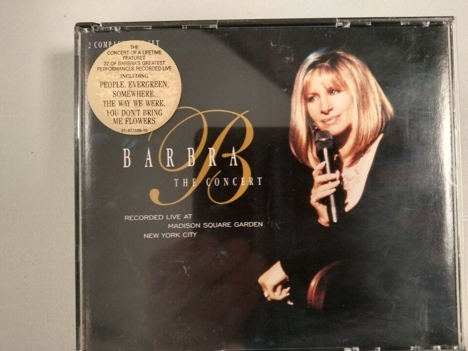 Barbra Streisand: Live, pop