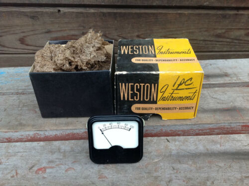 0100 Test Gauge in Mismatched Weston Instruments Box