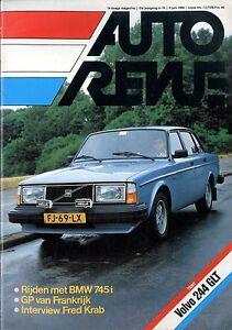 Berichte & Zeitschriften Auto & Motorrad: Teile WunderschöNen 1980 Auto Revue Magazin 14 Bmw 745i Volvo 244 Glt Renault 5 Turbo Vive La Vitess Weich Und Rutschhemmend