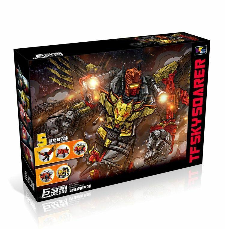 G1 Transformation protaking - 5IN1 Set Divebomb Rampage Headstrong OverGröße War