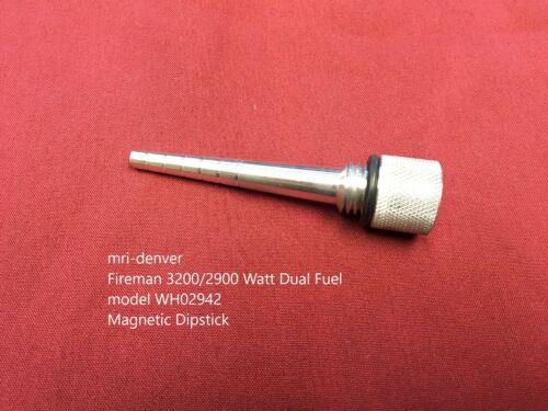 FIRMAN 3200//2900 WATT GENERATOR MODEL WH02942 MAGNETIC OIL LEVEL DIPSTICK