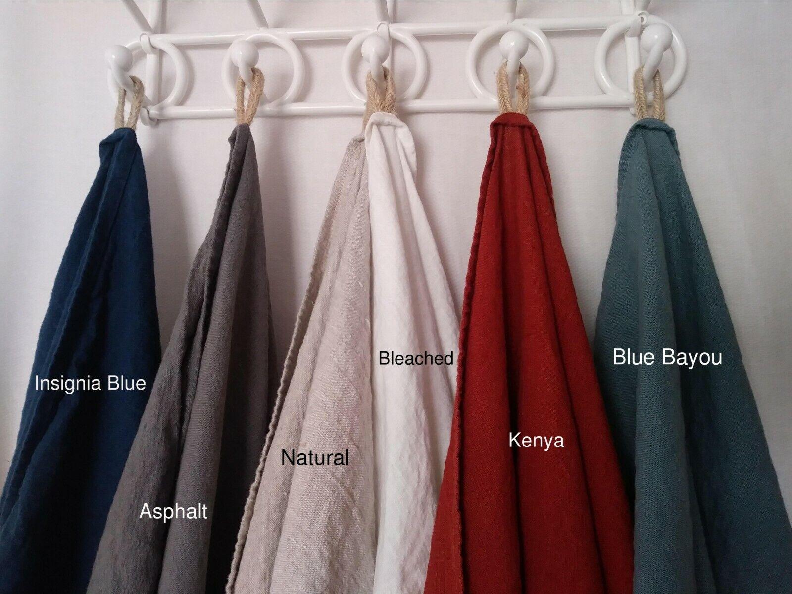 Linen Bedspread Linen Bedding, Rustic, Twin, Full, Queen, King Coverlet, Summer