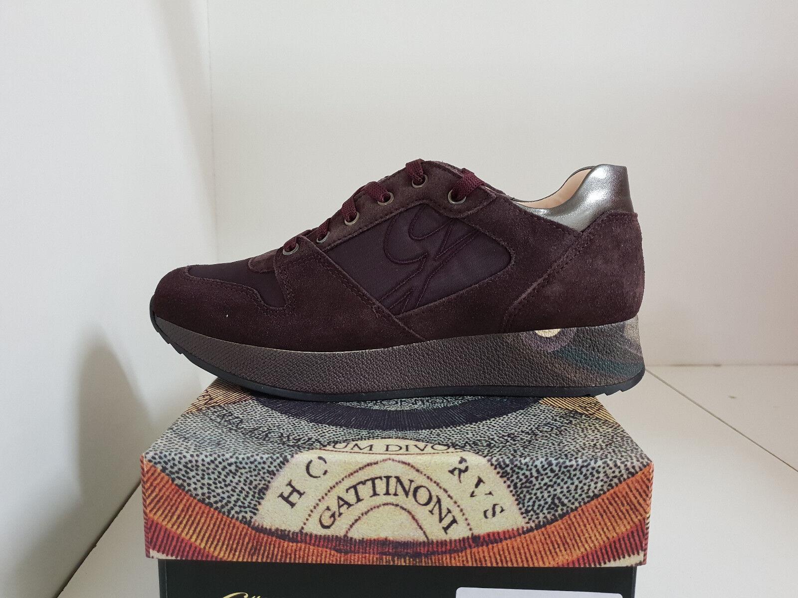 Schuhe Gattinoni PIGAB6087WDT446 Turnschuhe Turnschuhe Bordeaux 2018 Damen Winter