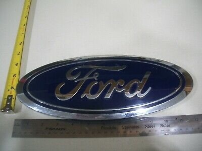 OEM Genuine 09-14 Ford F-150 Tailgate Blue Ford Oval 7 Inch Emblem CL3Z9942528B