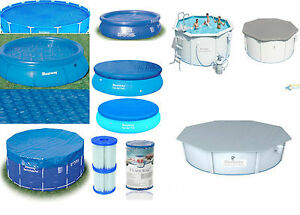 Bestway Swimming Pool Covers All Sizes Fast Sets