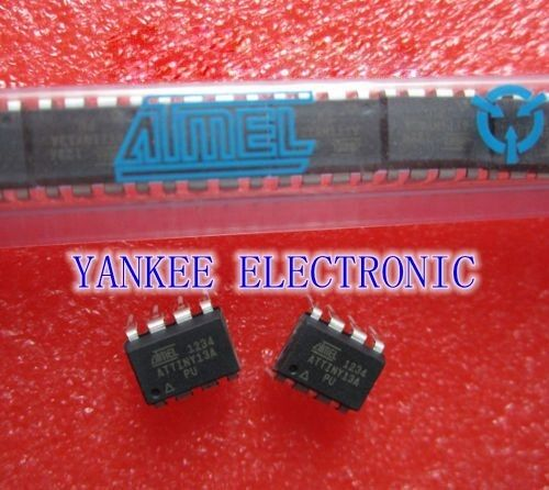 5PCS ATTINY13A-PU ATTINY13A DIP8 IC MCU AVR 1K FLASH 20MHZ  NEW D6