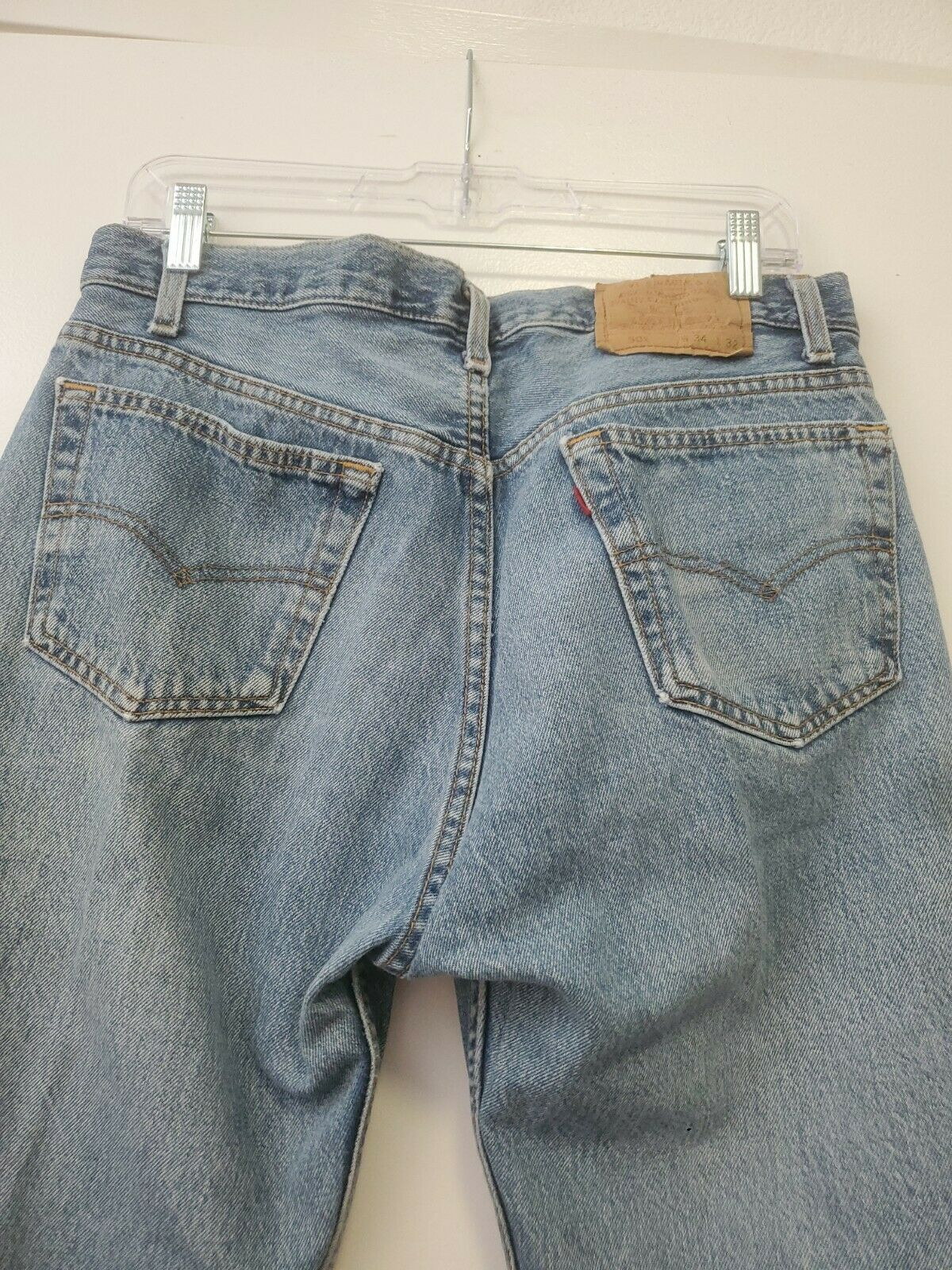 Vintage 501 Levis 34x32 Made In USA - image 6