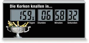 Countdown Zum Erfolg, Restzeit Bis Zum Neuen Job, Countdown Bis Zum Vertrag
