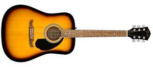 097-1210-732 Fender FA-125 Dreadnought Acoustic Guitar Sunburst With Gig Bag