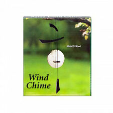 Asian Metal and Wood Wind Chime