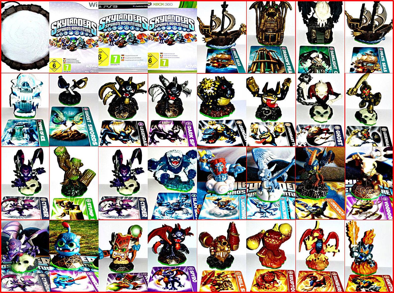 Skylanders Spyros Adventures Figurenauswahl per: Wii,Ps3,Ps4,Xbox,One,Dsi,U,