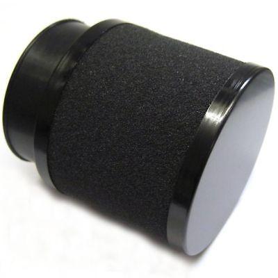 Luftfilter chrome Anschlußweite 42 bis 42mm  45° Sportluftfilter Rennluftfilter