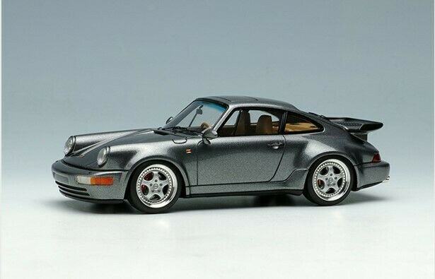 MakeUp VISION 1 43 VM158E Porsche 911 964 Turbo 3.6 1993 Gun Metallic