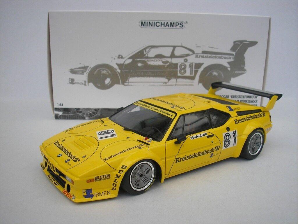 Bmw m1 procar -   81 norisring 1979 c. regazzoni 1   18 minichamps 180792991 neu